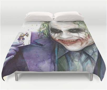 Batman Heath Ledger Super Villain Joker Bedding Daven Joker