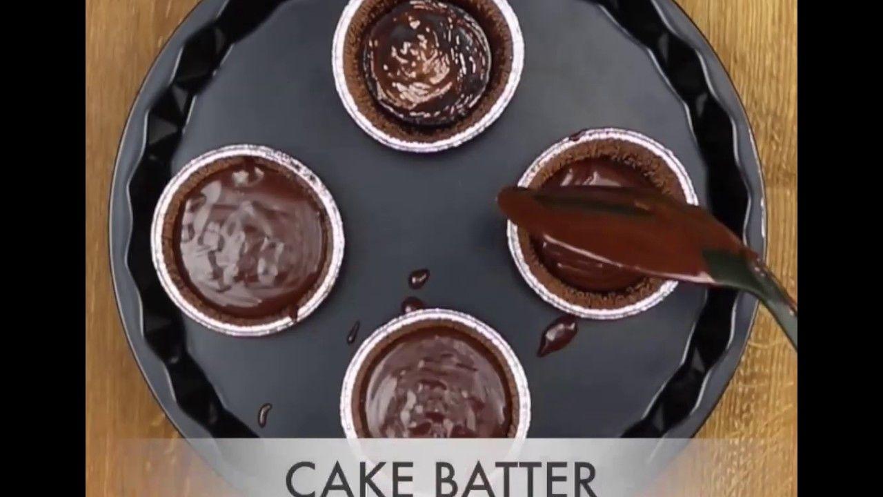 Chocolate lava cake recipe eggless molten choco lava