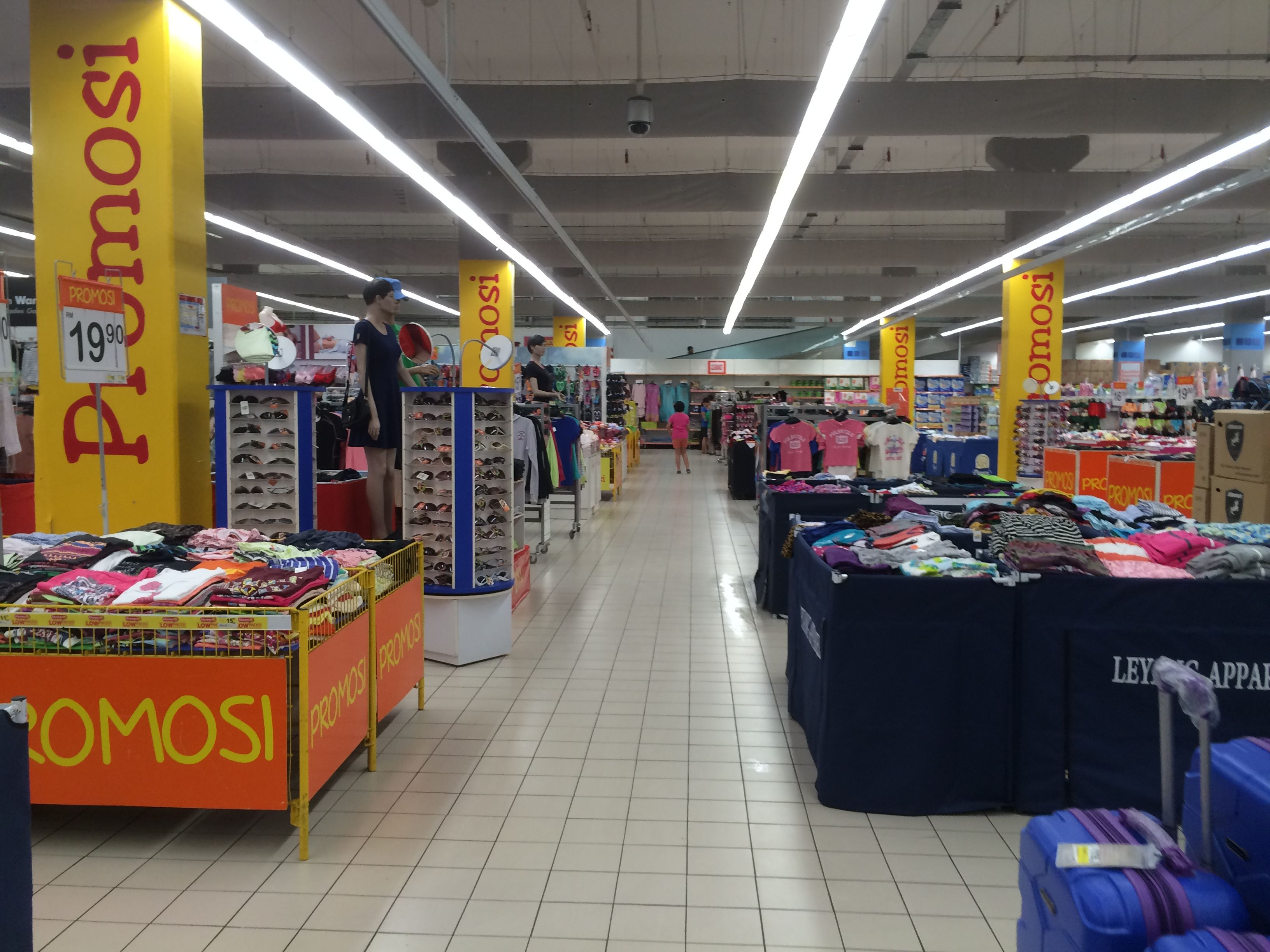 Aeon Big Johor Bahru Malaysia Hypermarket Layout