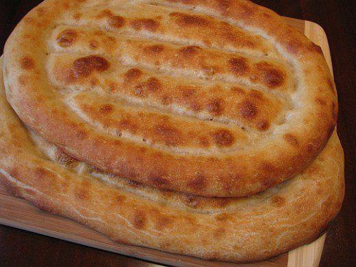 Armenian Bread Matnakash Brötchen - armenische küche rezepte