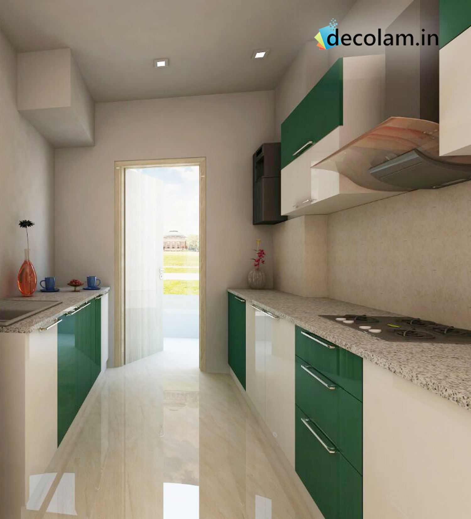 Parallel Kitchen Modern Parallel Kitchen That Will Add Glam To Your Home From