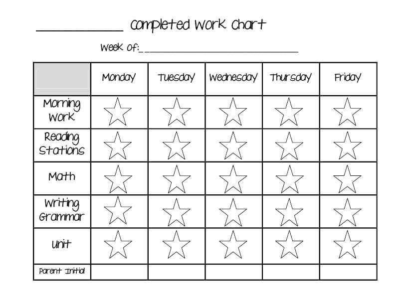 Editable behavior charts blank daily checkoff reporting sheet also rh pinterest
