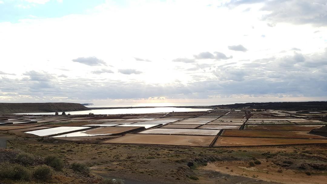 Sal de la tierra #lanzarote #sea #ocean #sunset #sun #salt #picoftheday #canaryisland #landscape