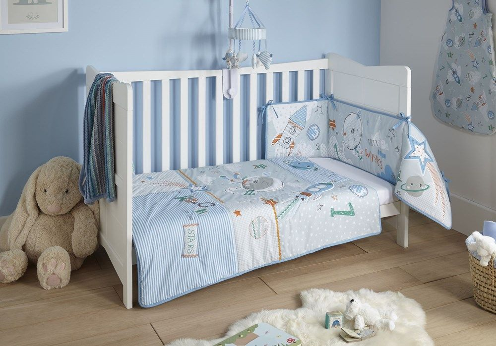 Forty Winks Cot Cot Bed Quilt Bumper Bedding Set In 2020 Cot