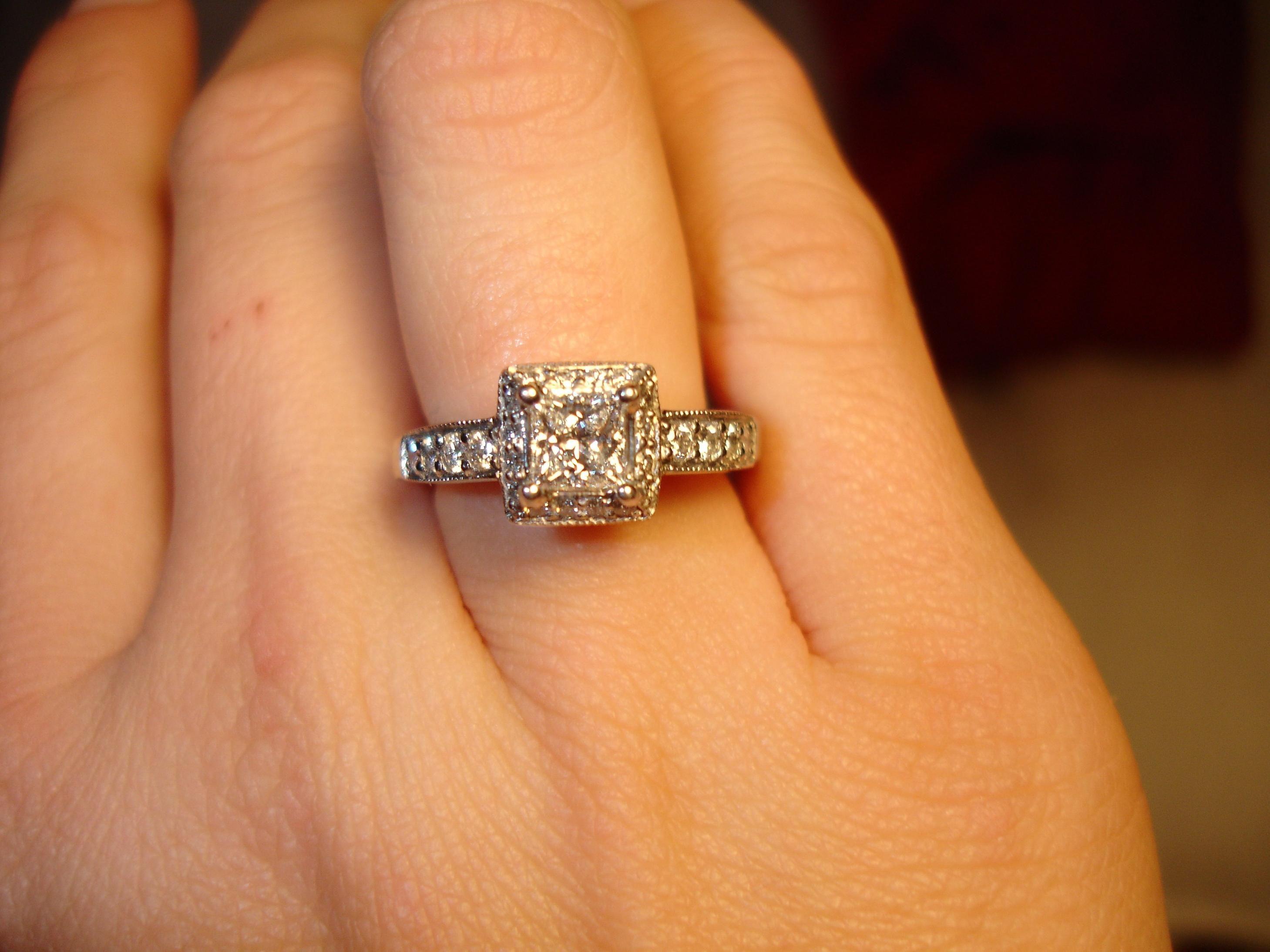 huge diamond engagement rings hand models 23 engagement