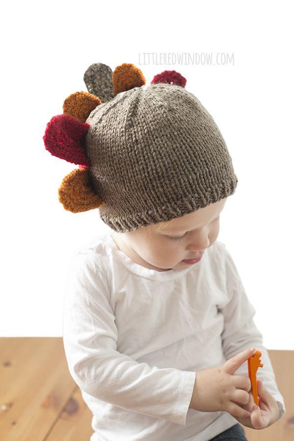Thanksgiving Turkey Hat Knitting Pattern | Turkey hat, Thanksgiving ...