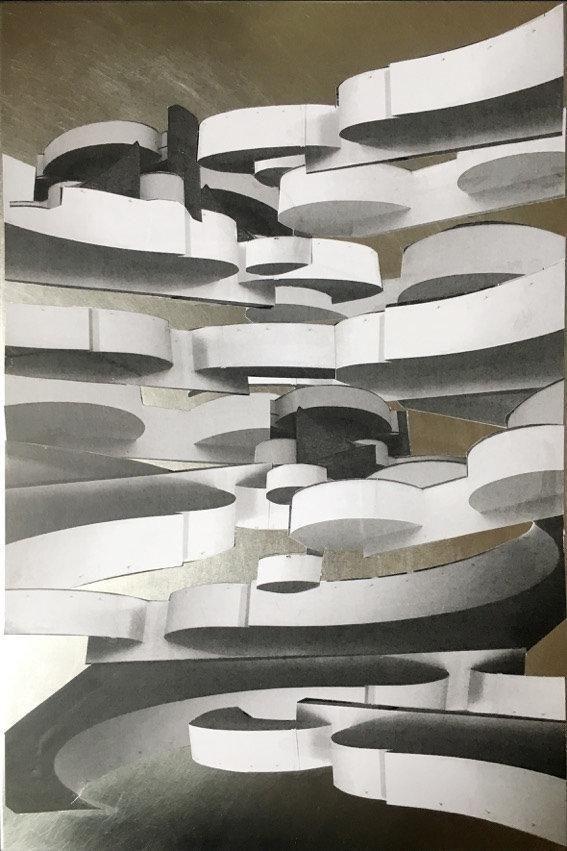 Frauke Dannert, Empore , 2016, Galerie Pfab