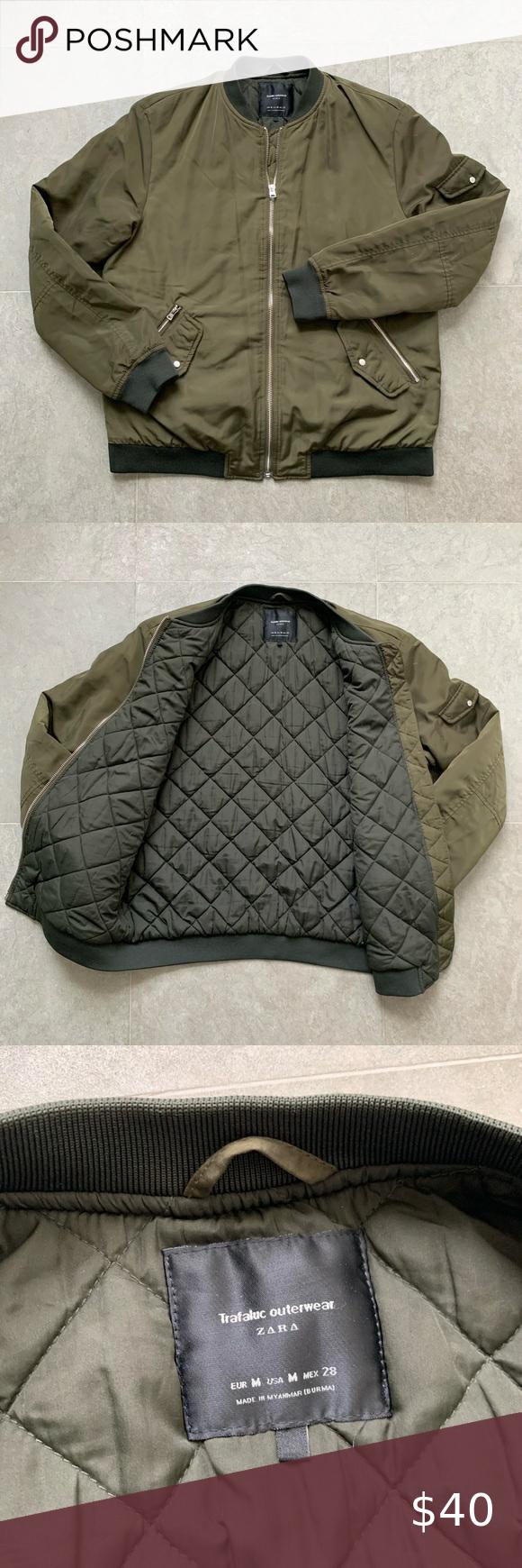 Zara Bomber Jacket Zara Bomber Jacket Jackets Zara [ 1740 x 580 Pixel ]