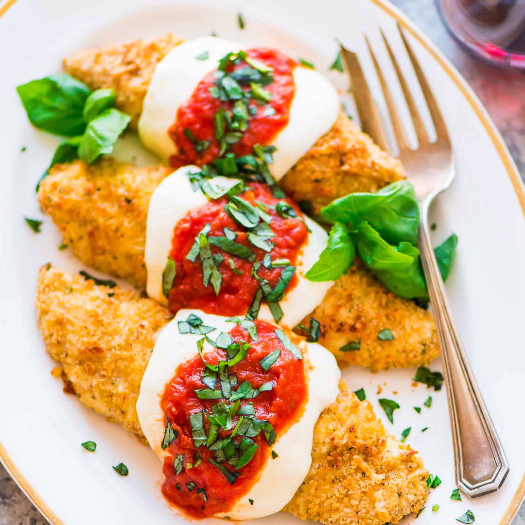 Baked Chicken Parmesan images