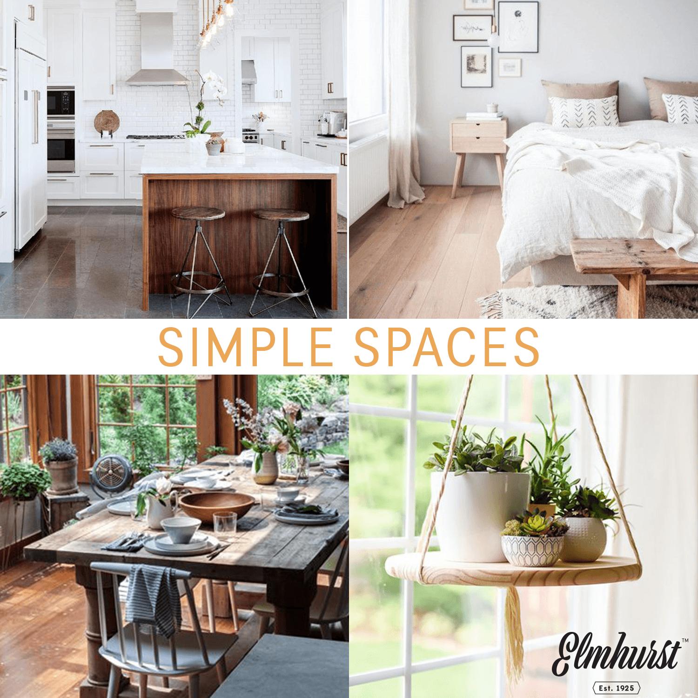 Simple Spaces Home Inspiration With Elmhurst Milked Simpler Better Elmhurst1925Com