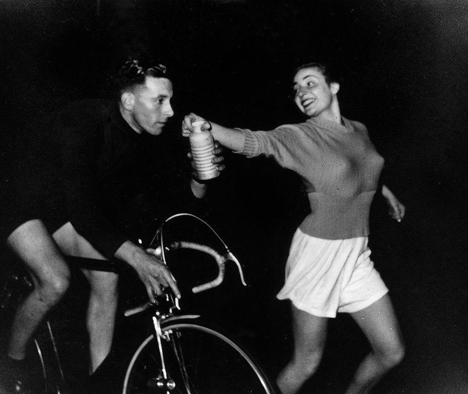 Ken Joy London Brighton Recird Breaking Cyclist 1949 Ciclismo