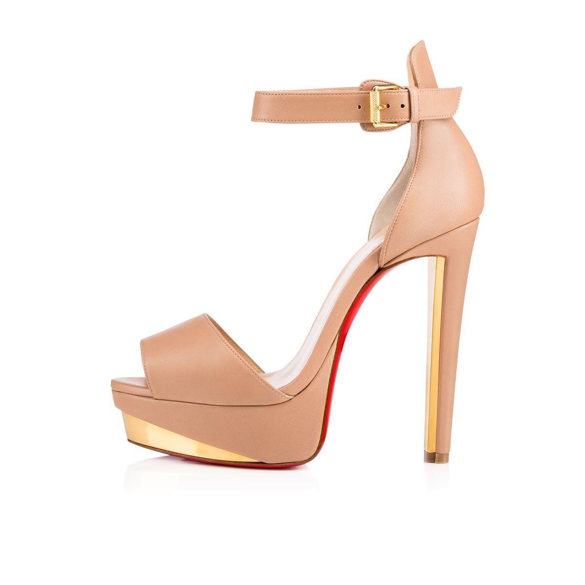 Christian Louboutin Tuctopen 140 Platform Sandals find great sale online F7ZCOptm