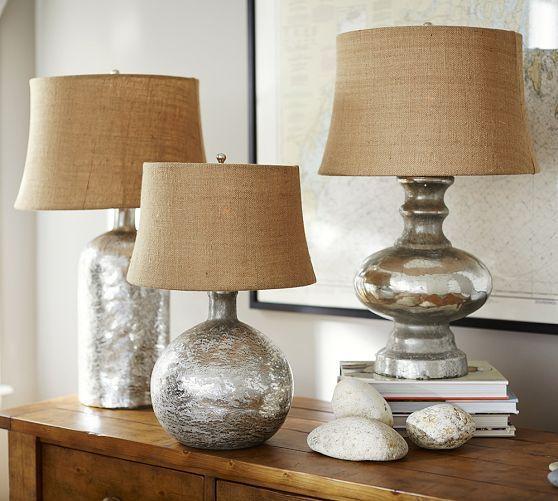 Antique Mercury Glass Table Bedside Lamps Pottery Barn Lamps Living Room Pottery Barn Lamps Mercury Glass Table Lamp