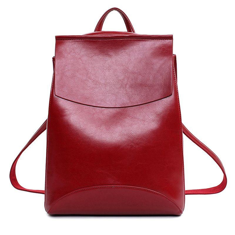 0ada0ae1b3ca 2017 New Arrival Backpack Women School Bags Teenagers Backpacks Teenage  Girls Genuine Leather Fashion Female Bag  Affiliate