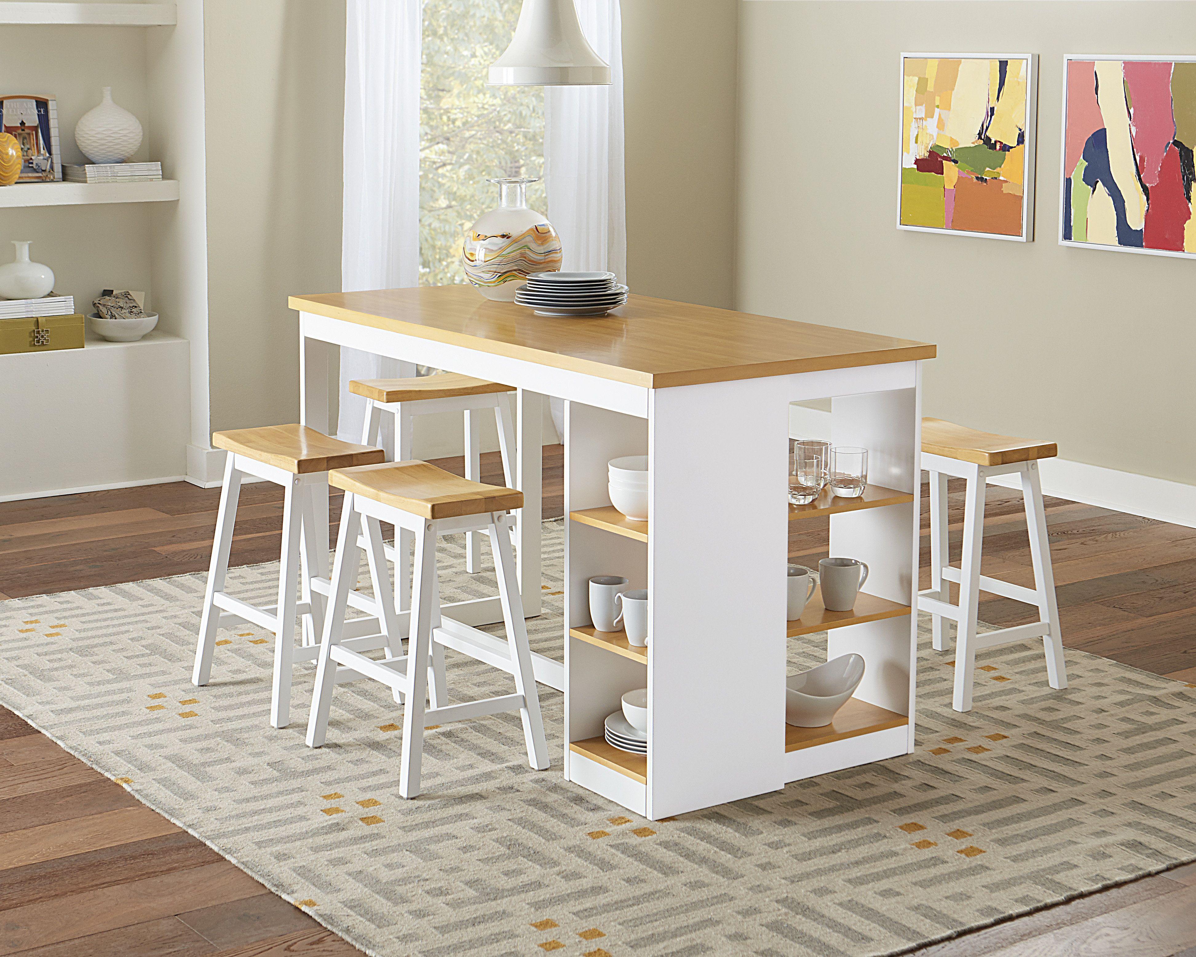 12 Comfort 6 Piece Bar Table Set In Dining Room Design Mesa Para