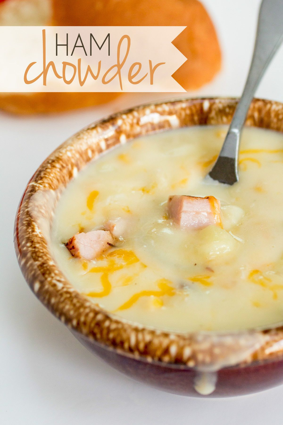 Awesome Zaycon ham chowder with potato and corn. Easy, fast, and delicious soup! // Order Ham? https://www.zayconfresh.com/products/pork/applewood-smoked-ham