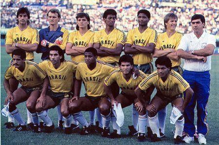 Em Pé André Cruz Taffarel Luis Carlos Winck Batista Ex Atlético Mineiro Aloísio E Adem Seleção Brasileira De Futebol Seleção Brasileira Jogos Olimpicos