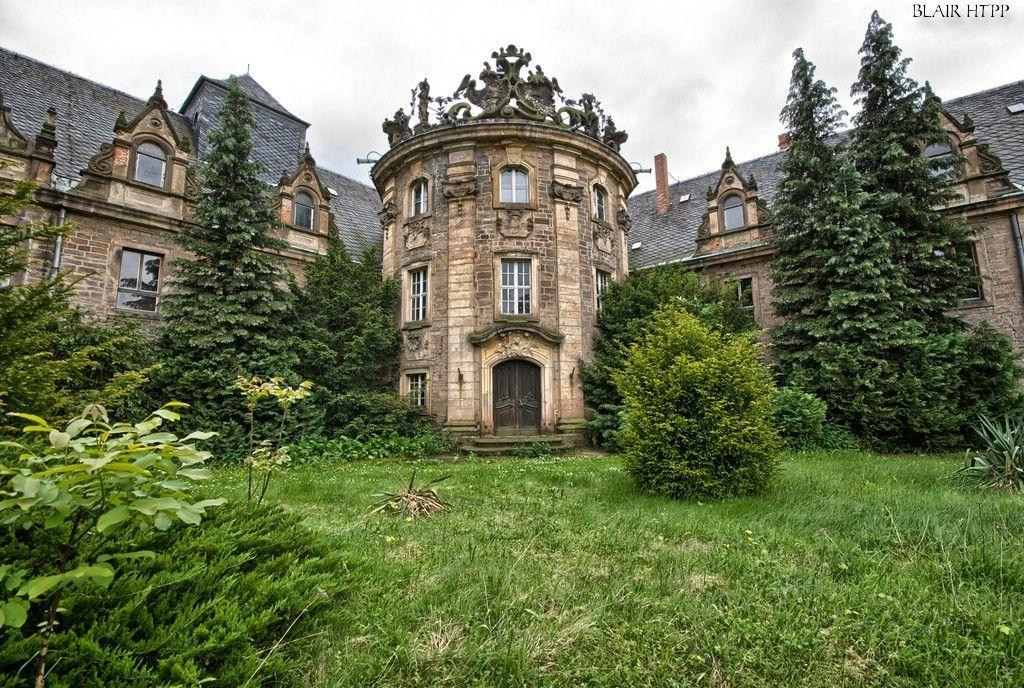 SachsenAnhalt Lost Castle. SaxonyAnhalt had its origins