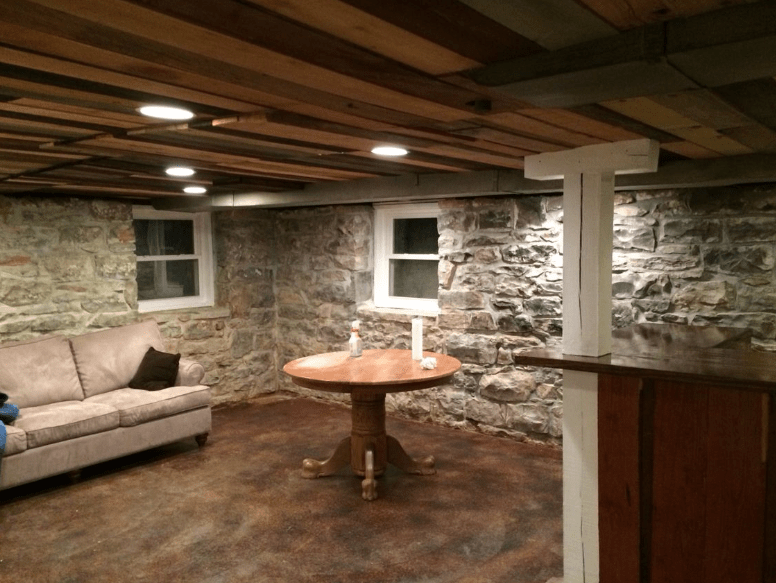 7 great basement ceiling ideas to consider in your remodel - 7 great basement design ideas ...