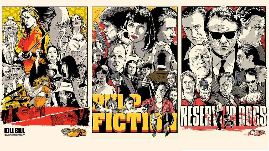 Wallpaper Collection Pulp fiction, Reservoir dogs