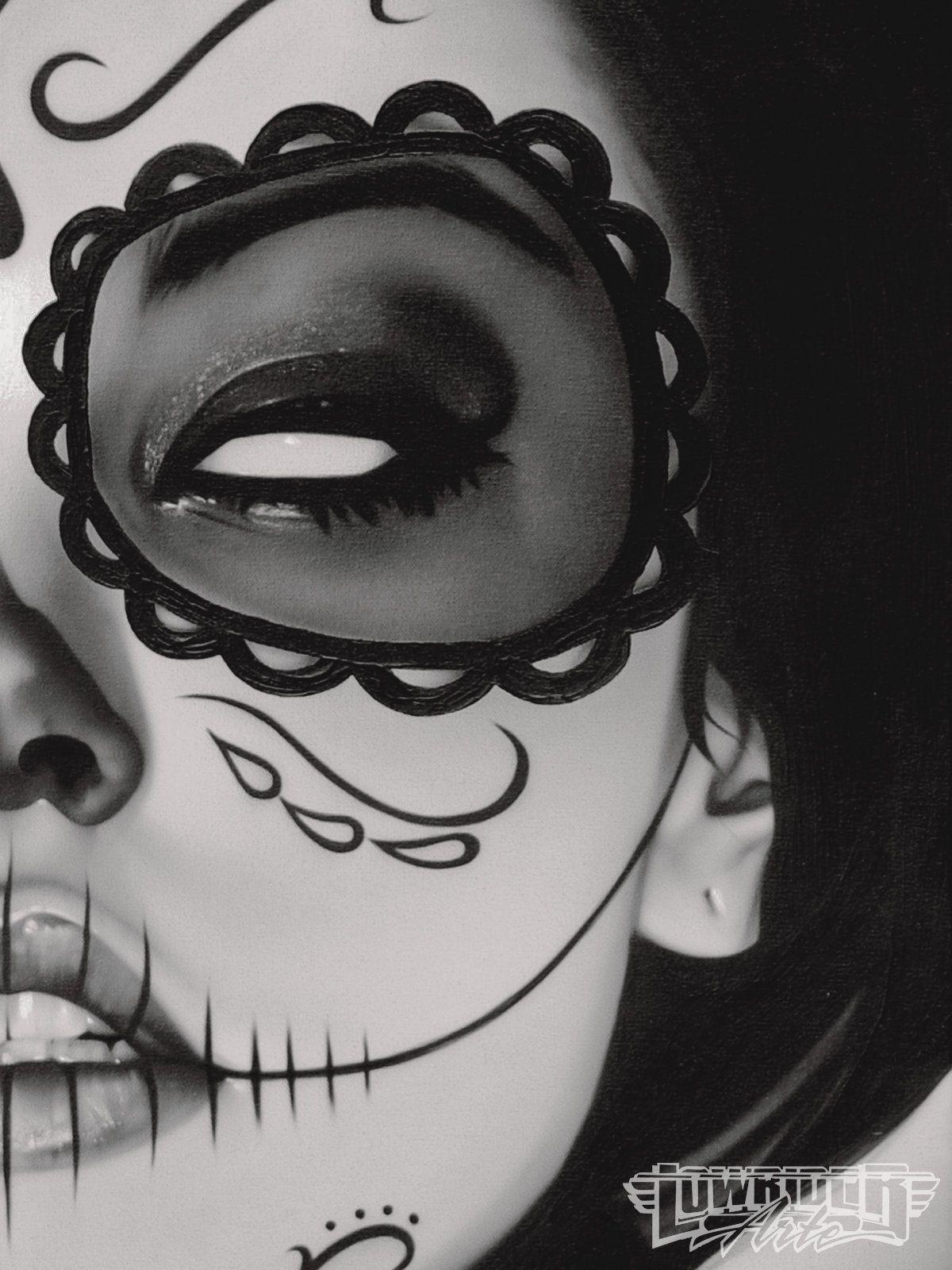 Daniel Esparza Black And White Lowrider Arte Featured