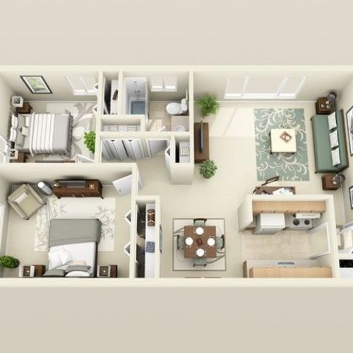 Pin By Vivian Salazar On Apt Apartment Floor Plans Apartment Floor Plan Floor Plans