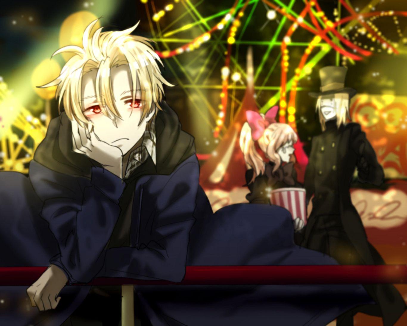 Anime Blood Blockade Battlefront King Of Despair Aligura