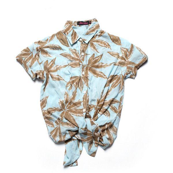 Women's Carly Shirt (palm Leaf Mint)