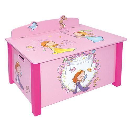Liberty House Toys Large Princess Toy Box 49 99 At Www Thelittlefurnitureco Co Uk Toy Boxes Large Toy Box