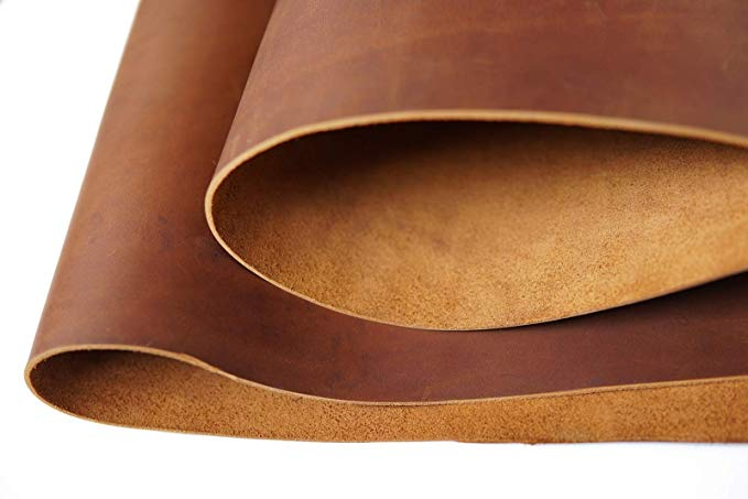 2.0mm Tooling Leather Square 5-6oz Full Grain Cowhide Leather Crafts Tree Style