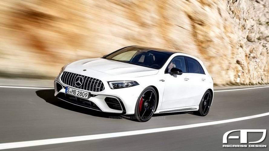 Mercedes Amg A35 To Debut In Paris With A45 And A45 S Coming Later