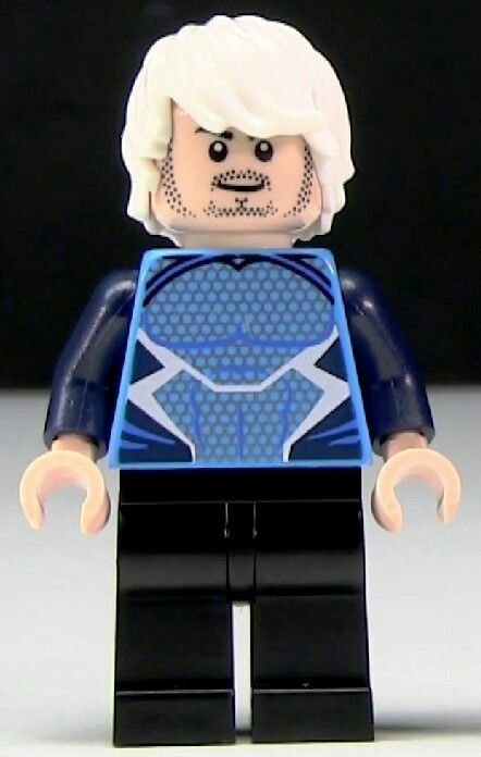 Quicksilver - Lego minifigurr Super awesome details!