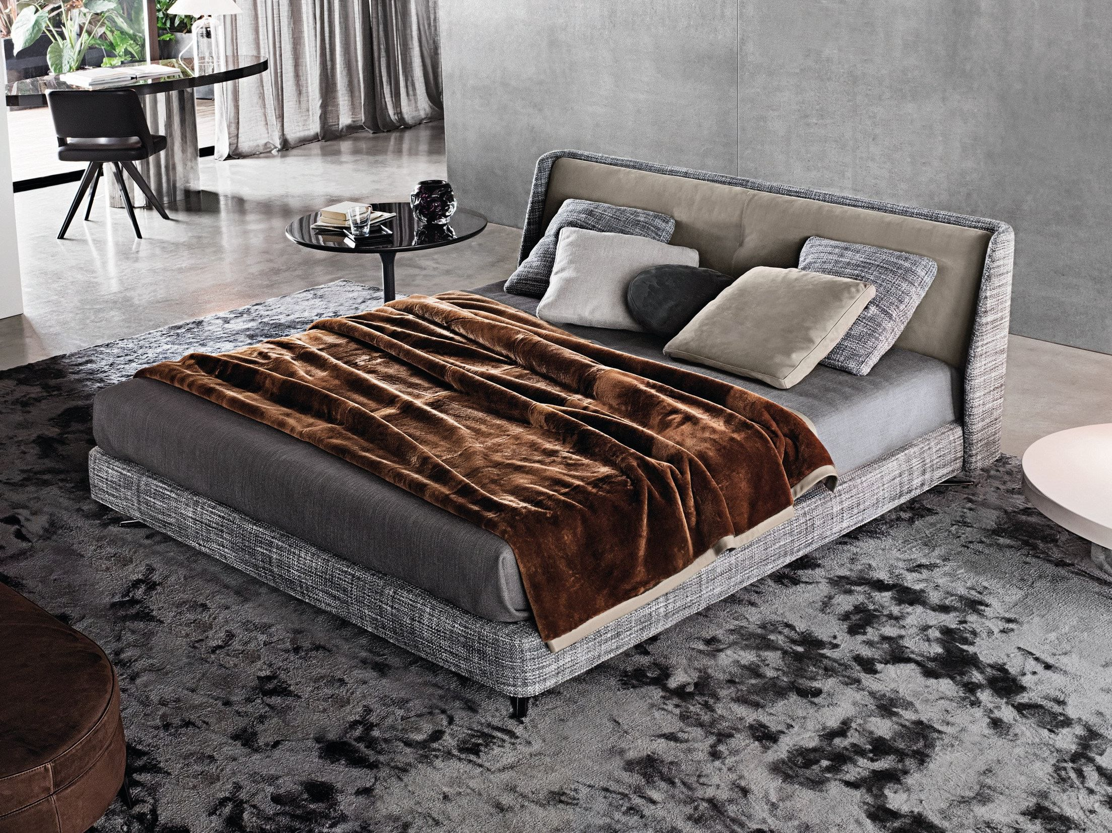 Double Bed Spencer Bed Spencer Series By Minotti - Design