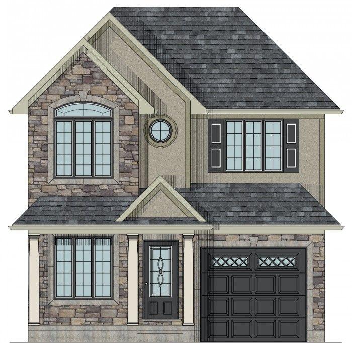 Scarborough Two Storey House Plan Cottage Floor Plans Affordable House Plans Two Storey House Plans