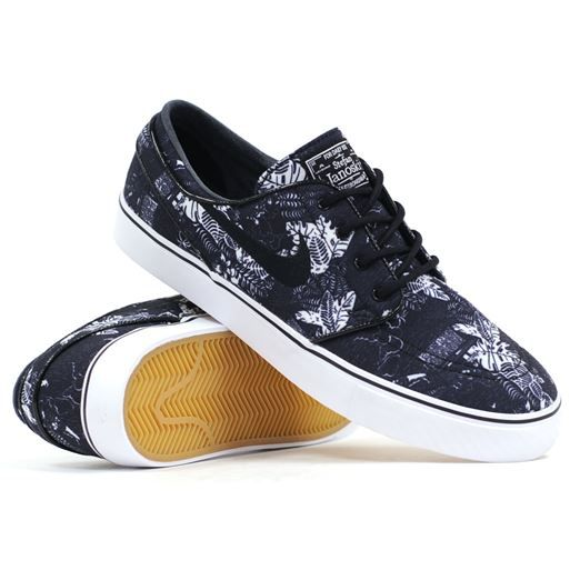 finest selection ac6aa 4fcb2 Another sick colorway in the Nike SB Janoski (Black Floral Sail). 9.5