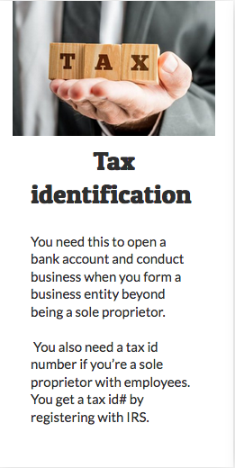 Tax Identification You Need This To Open A Bank Account And