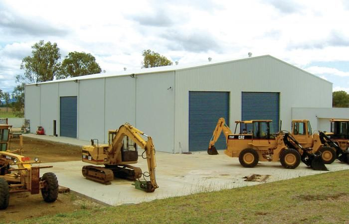 Serious Industrial Sheds   Superior design and engineering to ...