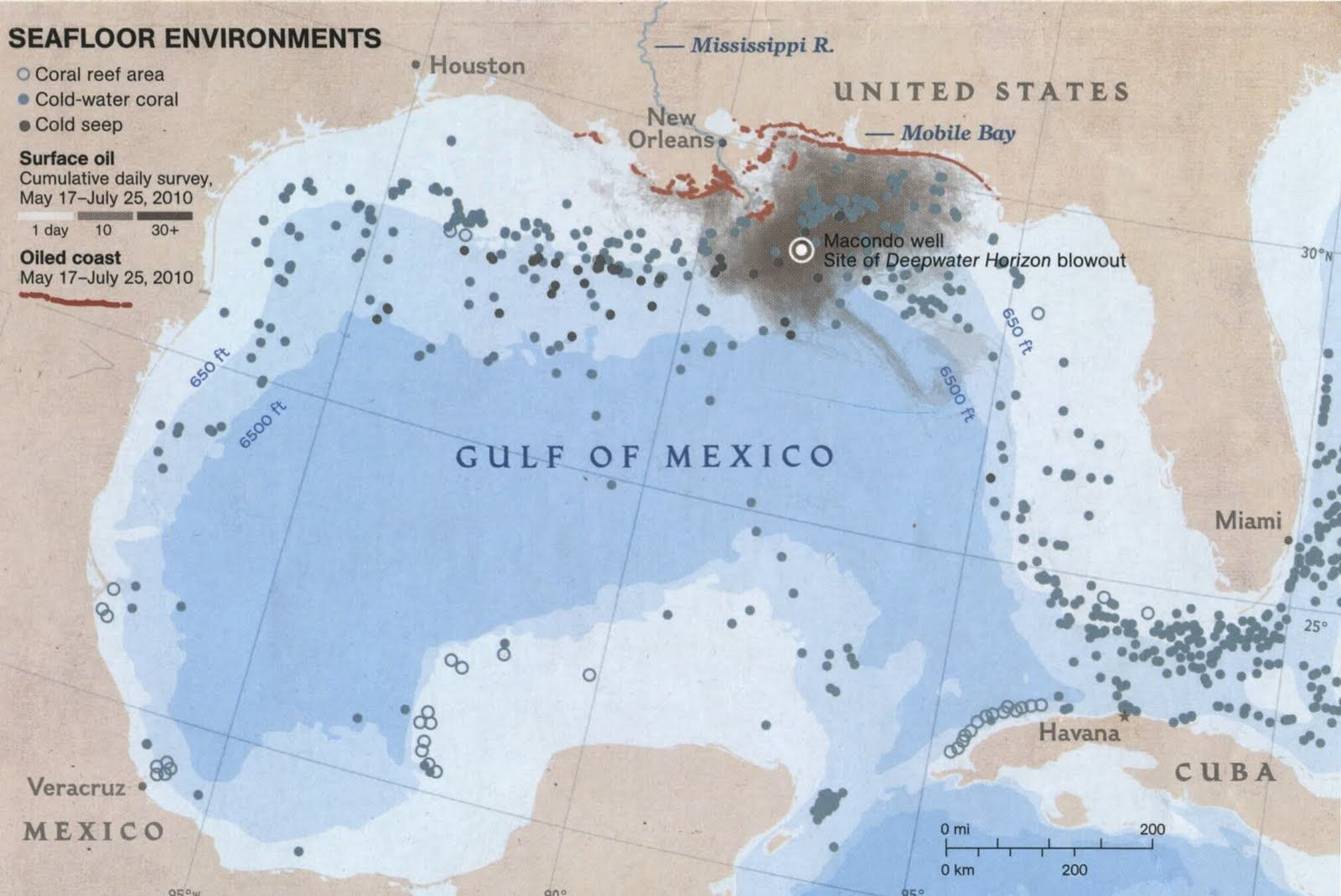 Oil Rigs In Gulf Of Mexico Map.Texas Gulf Oil Rig Map Gulf Oil Spill Map Texas Tea