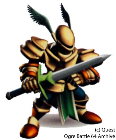 Dragoon Male Class Guide - Ogre Battle 64 Archive