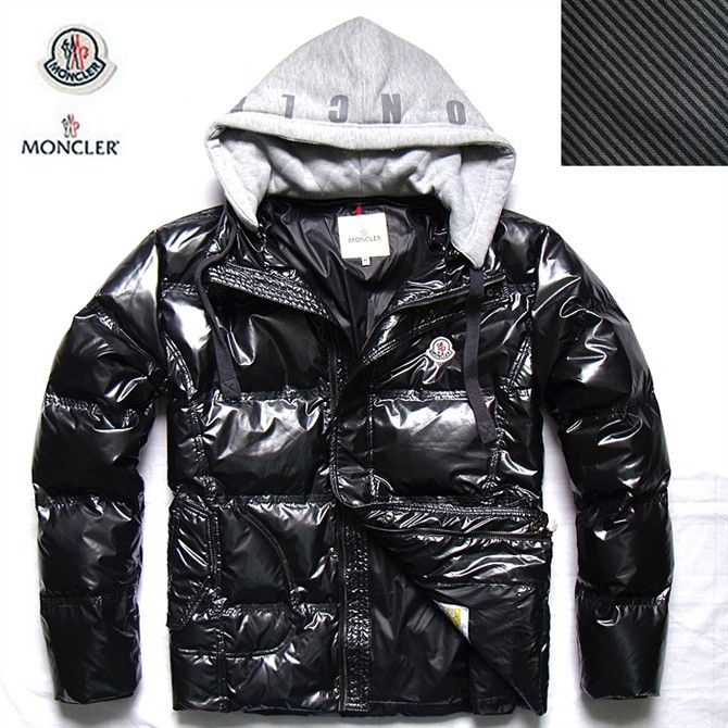 Buy Moncler Mens Winter Down Jackets Black of original with low ...