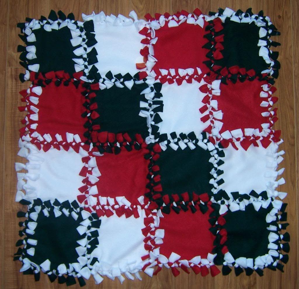 No Sew Fleece Blanket Braided Tutorials