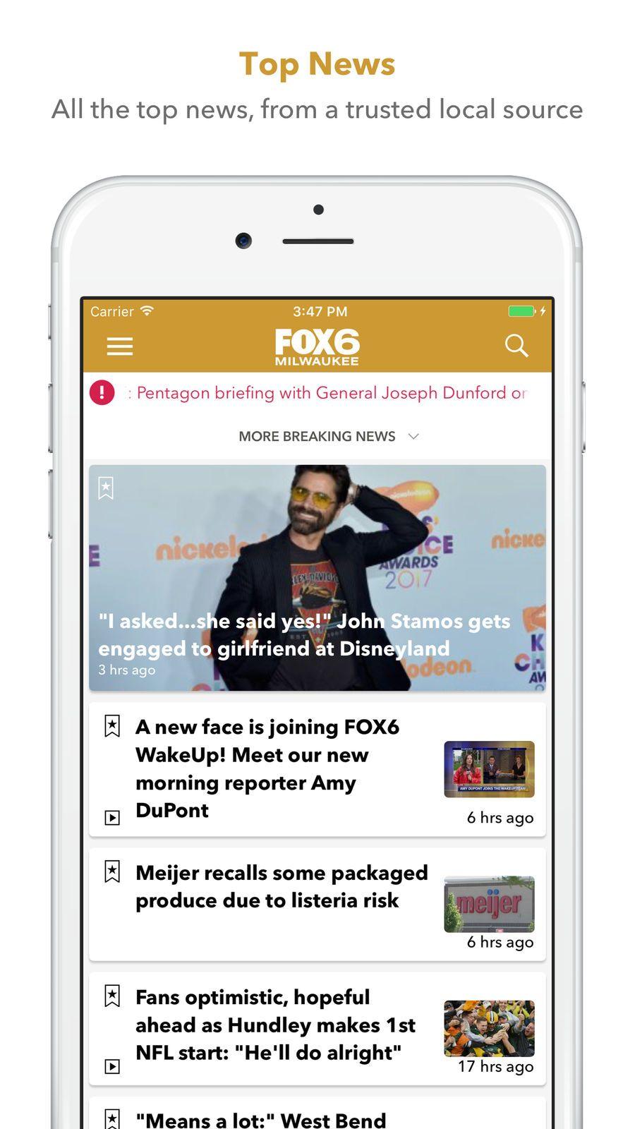 FOX6 SportsNewsappsios News apps, Apples to apples