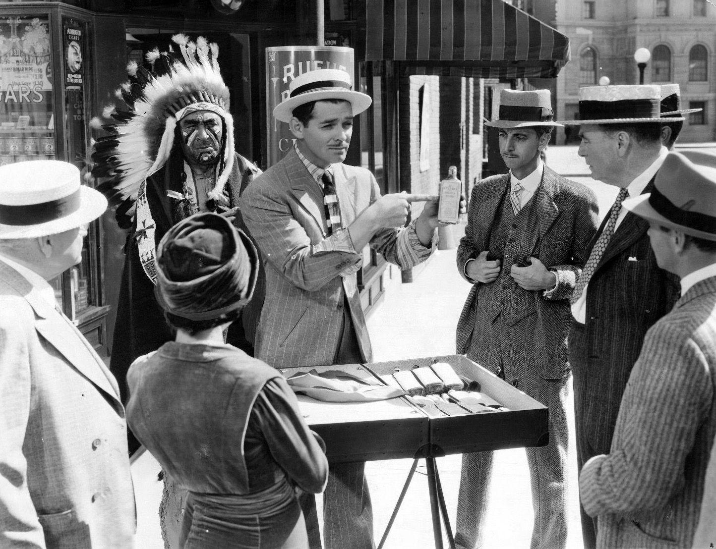 "Clark Gable -""Idiots Delight"" 1939"