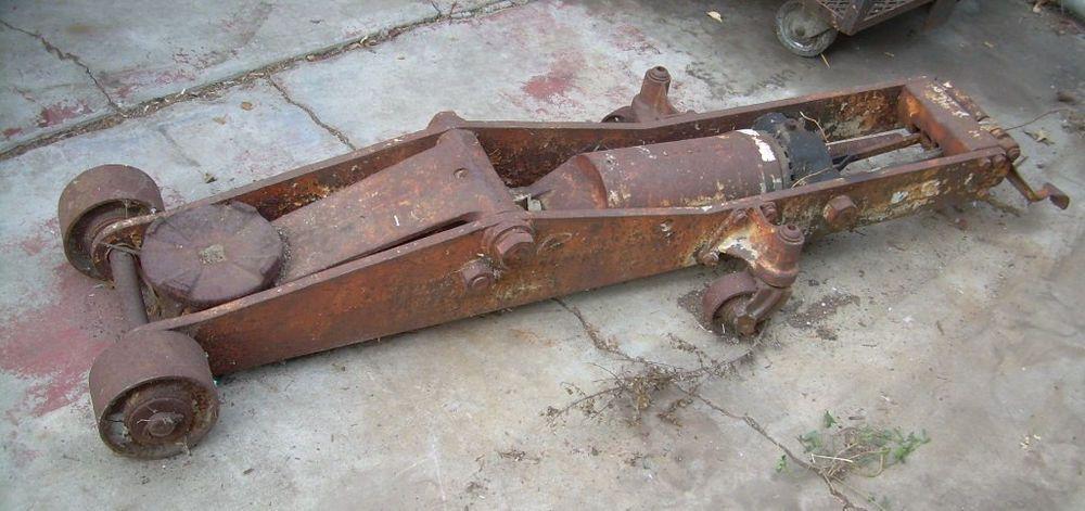 Old Floor Jack Mechanical Dinosaur Walker Weaver No Marks