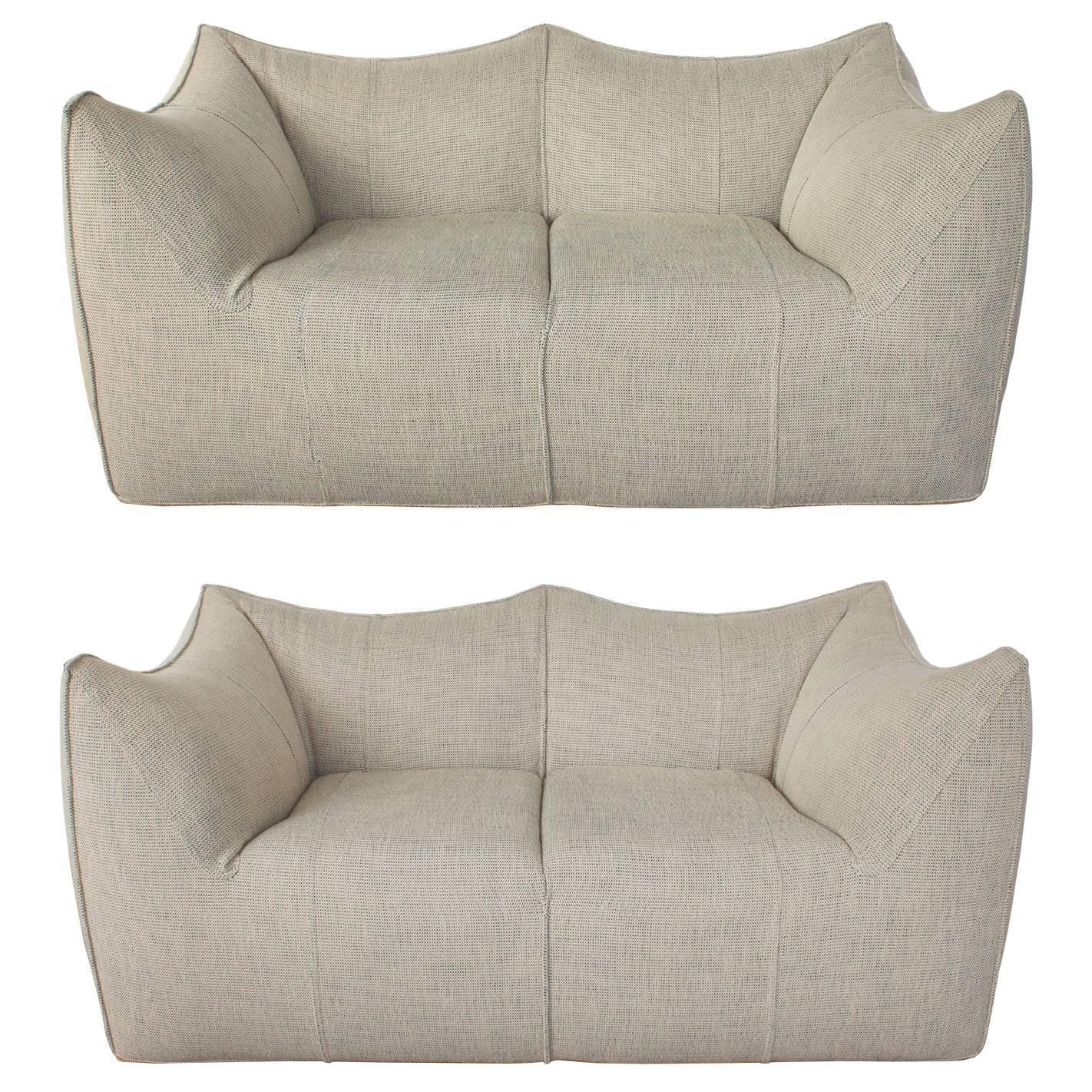 B Famous Schlafsofas Mario Bellini Le Bambole Loveseat Or Settees For B&b Italia