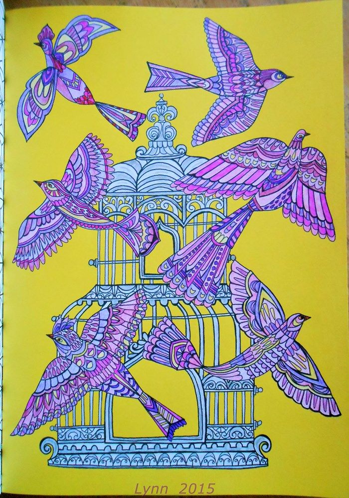From Colour Therapy An Anti Stress Colouring Book
