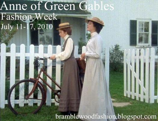 Bramblewood Fashion Anne Of Green Gables Fashion Week With