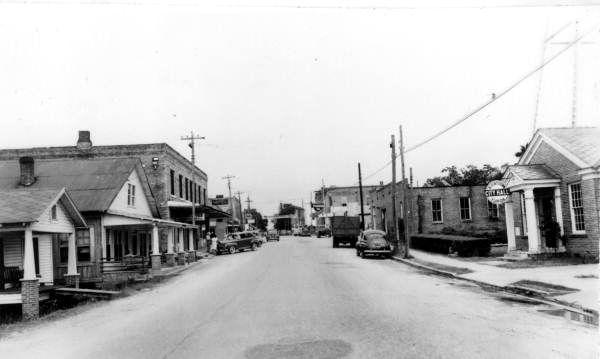 Florida Memory View Of Blountstown Blountstown Florida Blountstown Old Florida Florida