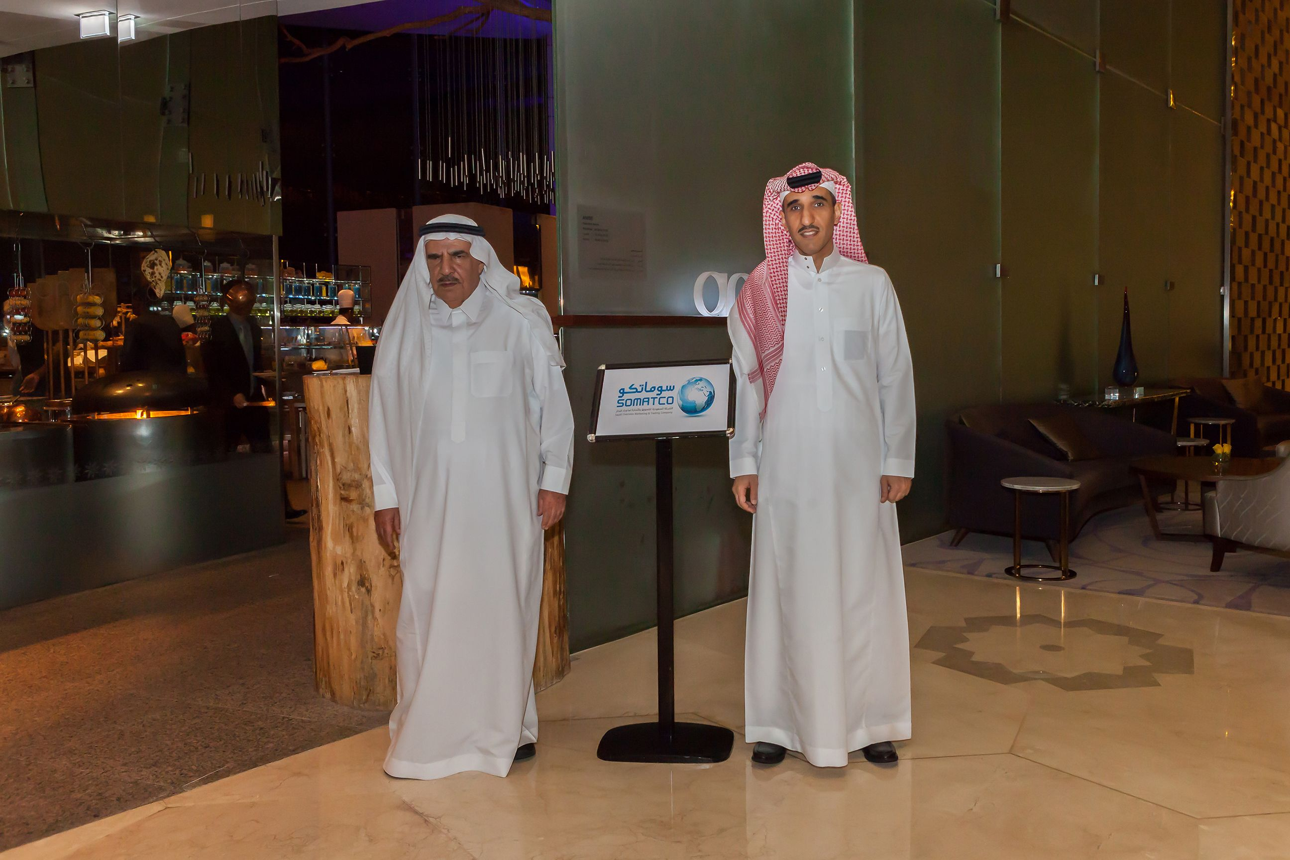 Somatco organized dinner party for the supplier during Arab