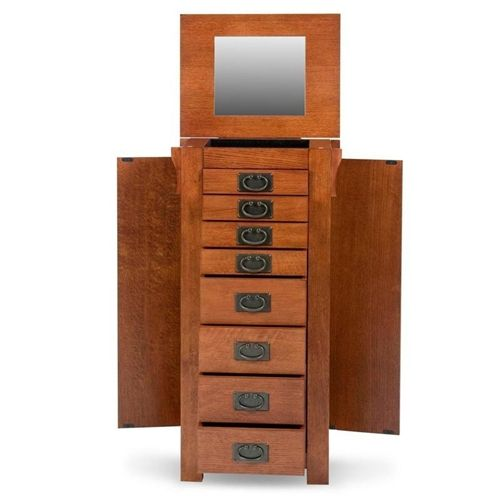 Mission Oak Jewelry Armoire Jewelry Armoires Pinterest
